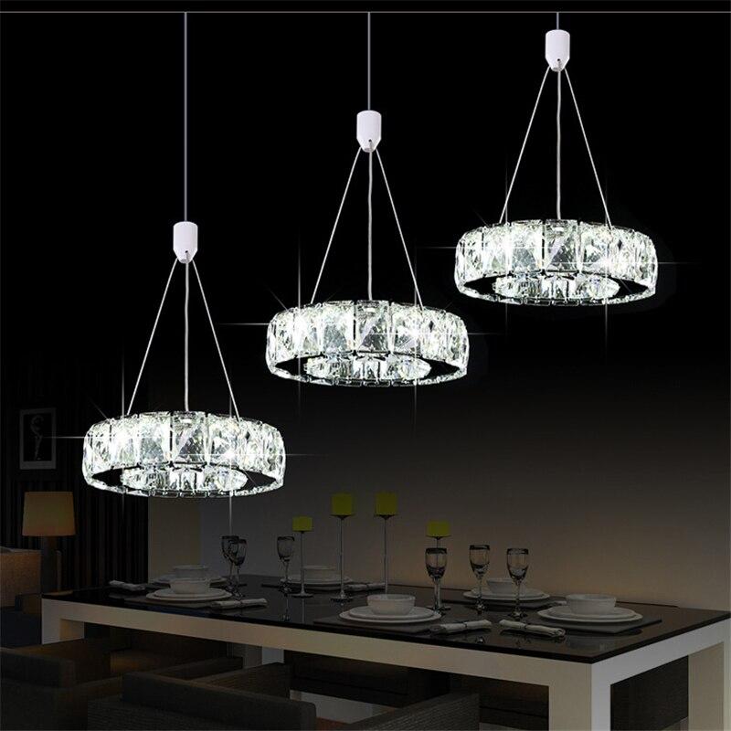 2019 Luxury silver garden crystal LED chandelier K9 crystal led light / led gloss lamp / fixture modern LED chandelier lighting - 3