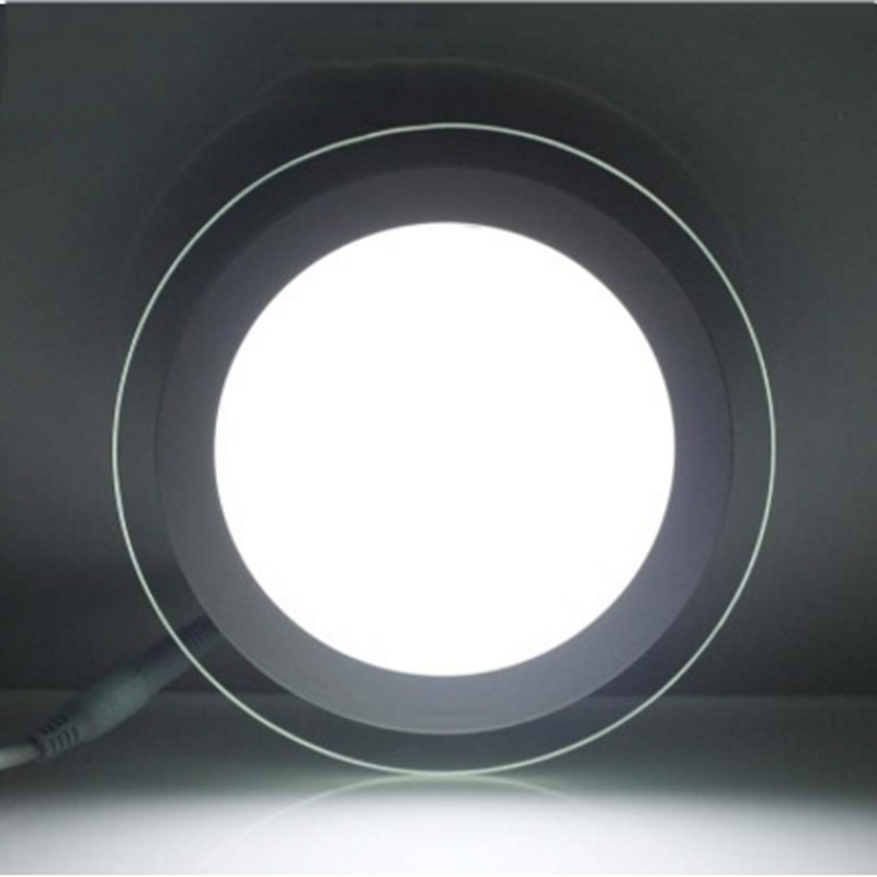 6W 12W18W stmívatelné LED světla 240v panel čtvercová skleněná - LED Osvětlení