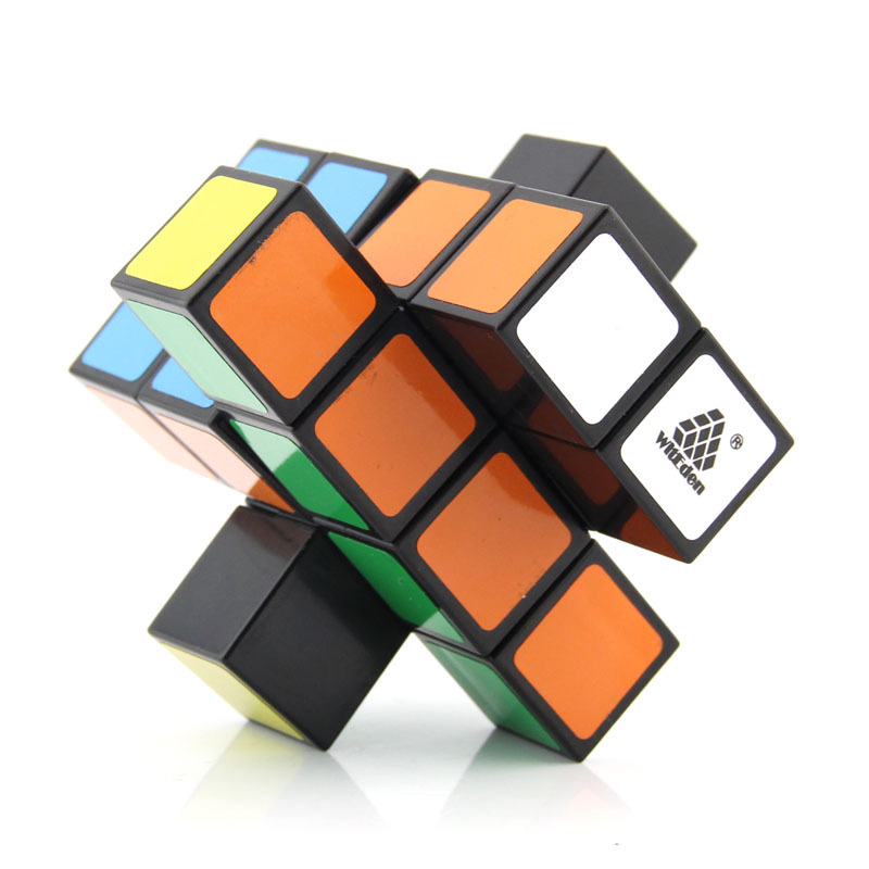 WitEden Unequal 2x2x4 Camouflage Magic Cube Professional Speed Puzzle 224 Cube Educational Toys for Children Intellectual in Magic Cubes from Toys Hobbies