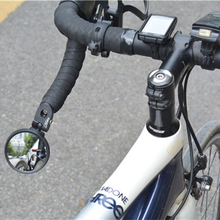 Hafny Bicycle Rearview Mirror for MTB Road Bike 360 Degree Adjustable Wide-angle Stainless Flexible Cycling Safety Rear