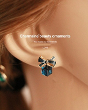 geometric stud earrings fashion jewelry women brinco aretes boucle d'oreille studs oorbellen aros cute korean crystal earing цены