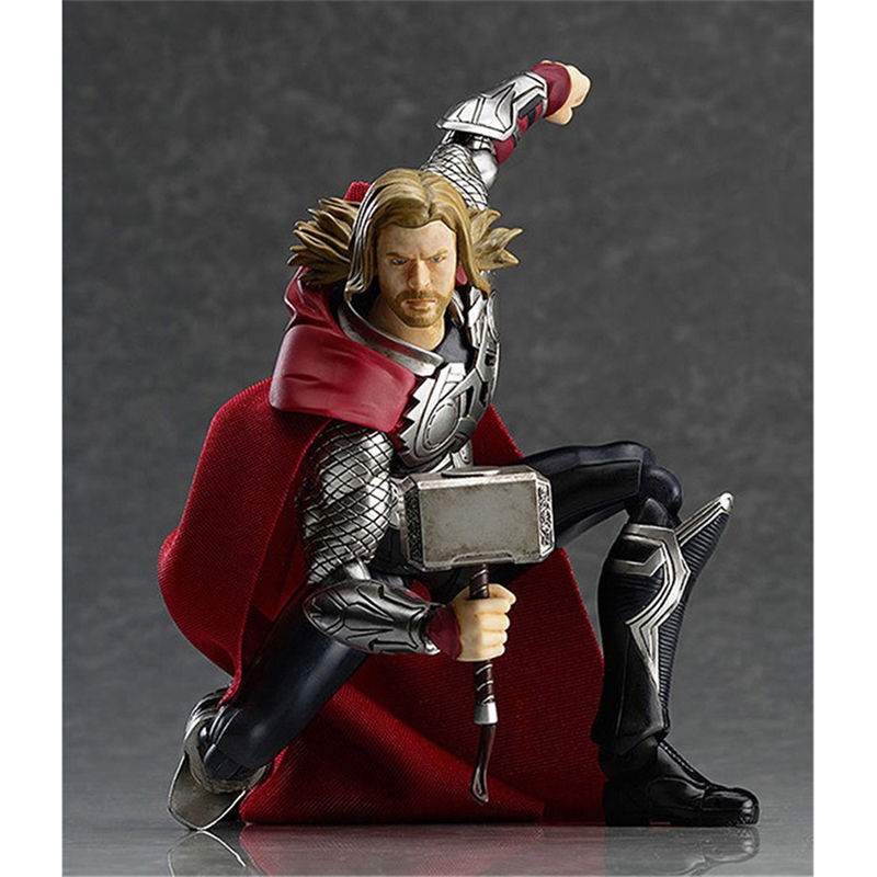 Thor Action figure Toys Thor Figure Collection Super Hero PVC Model Toys 14 CM For Kids Anime lovers as Christmas Gift BN031 cute pet rare color sausage short hair dog action figure girl s collection classic anime christmas gift lps doll kids toys