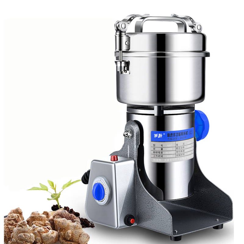 Y159 New 600g Multifunctional Portable Grinder Herb Flood Flour Pulverizer Food Mill Grinding Machine Electric pepper mill Мельница
