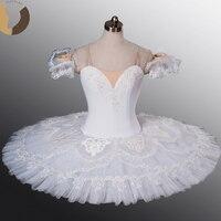 FLTOTURE AT1102 Белые зимние костюмы для девочек классические балетные пачки индивидуальный заказ пачка для этап ребенок Одежда для танцев для ба