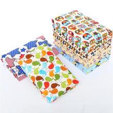 10pcs 32 * 12 wiederverwendbare Baby-Windeln Stoff-Windel-Einsätze 1 Stück 3 Schicht-Einsatz 100% Cotton Washable Baby Care Products