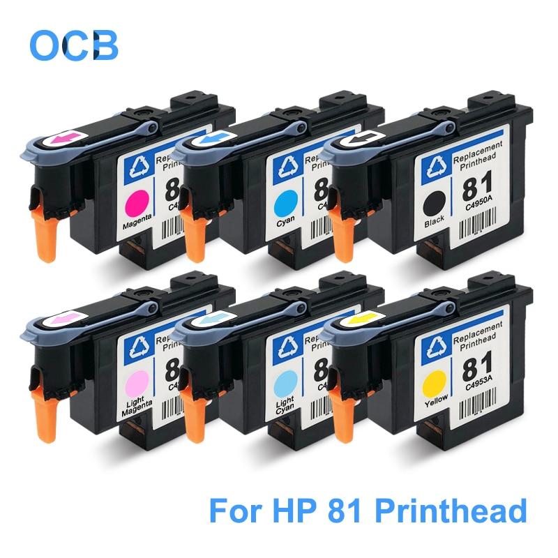 For HP 81 Printhead C4950A C4951A C4952A C4953A C4954A C4955A Print Head For HP Designjet 5000 5000ps 5500 5500ps Printer Head цена