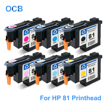 For HP 81 Printhead C4950A C4951A C4952A C4953A C4954A C4955A Print Head For HP Designjet 5000 5000ps 5500 5500ps Printer Head