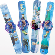 1pcs Princess Elsa Digital Bracelet Watch 2017 Hot Cartoon Soft Strap Girls Boys Kids Casual Clock High Quality Relogio Feminino