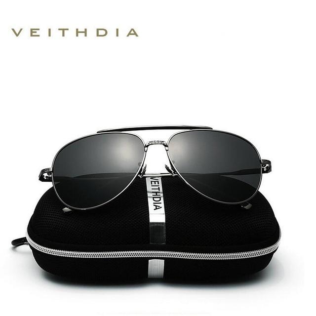 2018 New  VEITHDIA Vintage Pilot Brand Designer Sunglasses Men/Women Male Sun Glasses gafas oculos de sol masculino VT3616 2