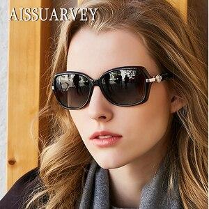Image 4 - 2019 taklidi küçük asetat moda polarize güneş gözlüğü kadınlar için en kaliteli kızlar bayan marka gözlük sürüş güneş gözlüğü