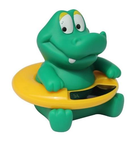 Thermomètre bébé bébé   Thermomètre d'eau, ours bébé thermomètre de bain, canard dinosaure jouet baignoire testeur de température, jouet de bain enfant