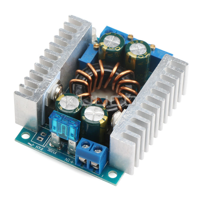 цена на 150W Power Supply Module DC 10~32V to 10~46V 16A Adjustable Boost Converter DC 12V 24V Voltage Regulator/Adapter/Charger/Driver