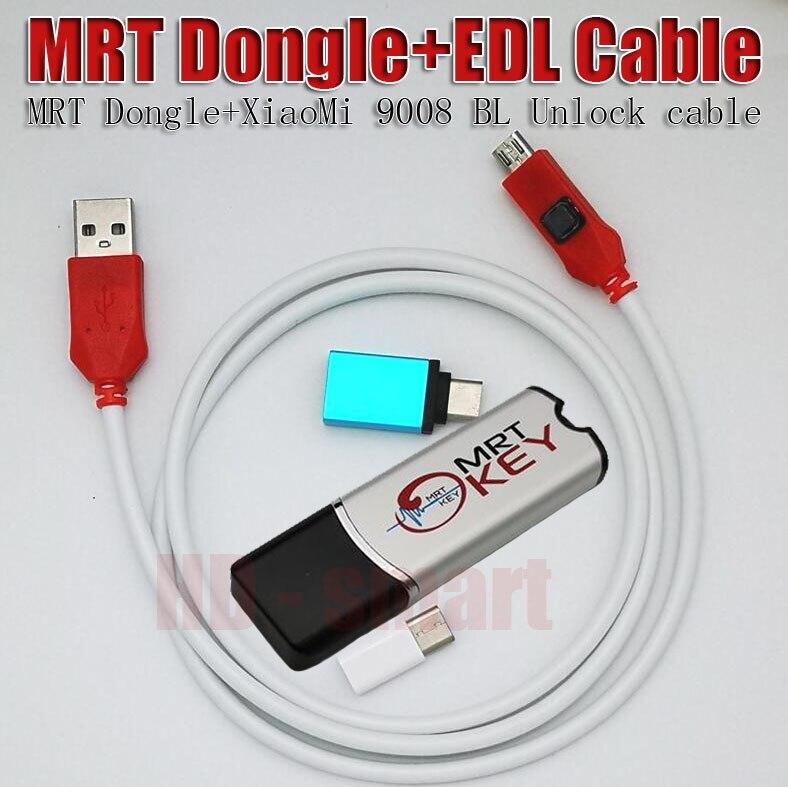 Outils de réparation mobiles à 2 clés MRT Dongle Original EDL 9008 Flash d'ingénierie à Port ouvert