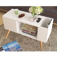 Giantex Modern Side Table End Table For Bedroom Living Room Sitting Room Drawer White Living Room