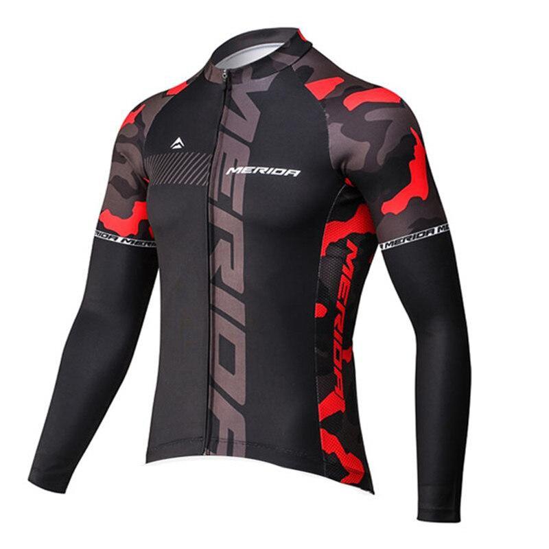 2018 Merida Pro equipo primavera Ciclismo Jersey MTB Ropa de Ciclismo de manga larga Ropa de bicicleta Ropa de Ciclismo #7