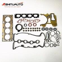 Металлический полный набор наборы для восстановления двигателя автомобильные запчасти прокладка двигателя подходит для Chevrolet cruze Opel OEM#55568528 93186911
