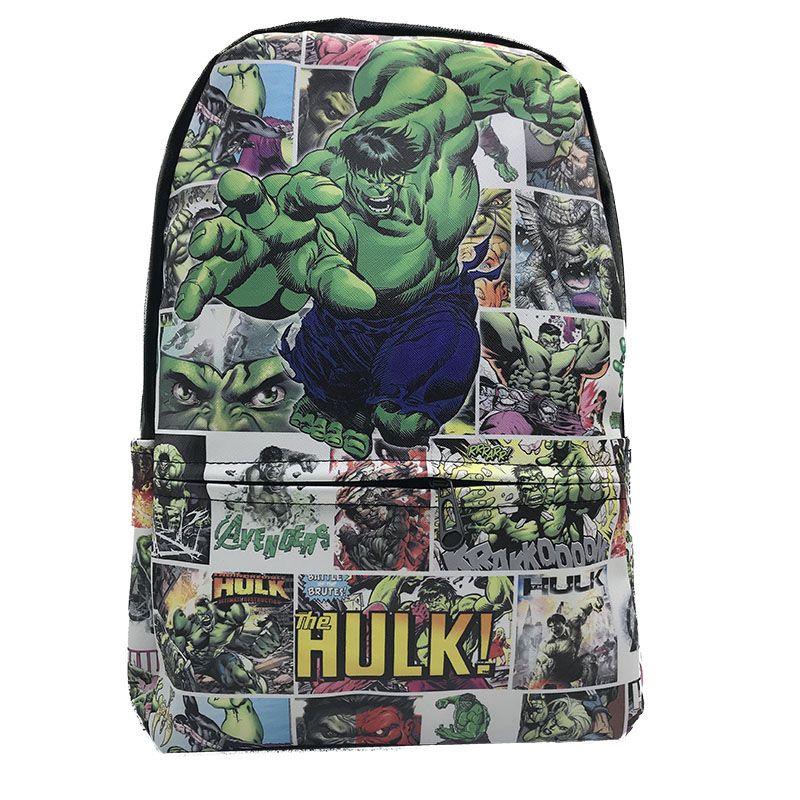 Deadpool Superhero Shoulder Backpack Knapsack Student Bag Schoolbag Rucksack New