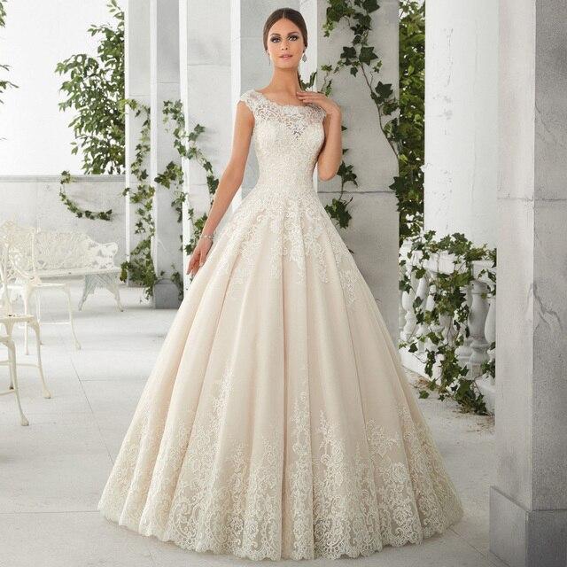 3c56660a5092 Plus Size Princess Wedding Gown 2017 Berydress Ivory/White vestido de novia  Organza Ball Gown Boho Girls Wedding Dress with Lace
