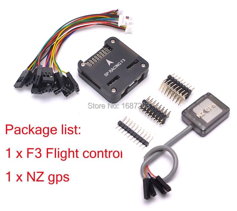 7 Series Mini NZ GPS + SP Racing F3 Flight Controller Board Acro / Deluxe  For FPV QAV-R QAV-X FPV RC Drone Quadcopter Kit