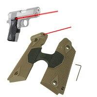 LXGD táctica Punto Rojo Laser Lasergrip Agarre Para 1911 Pistola Pistolera Accesorios Al Por Mayor