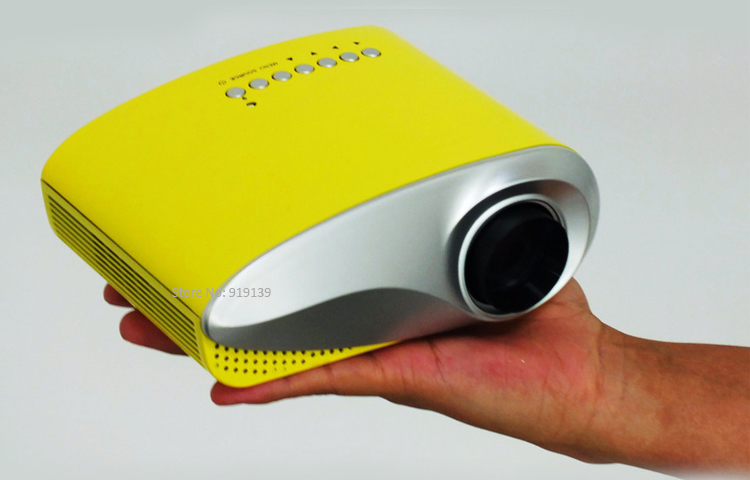 mini projector yellow pic 7