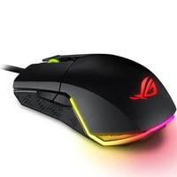 ASUS ROG Pugio Aura RGB USB Wired Optical Ergonomic Ambidextrous Gaming Mouse