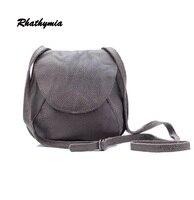 2016 Fashion High Quality 100 Genuine Leather Women Messenger Bag Natural Skin Mini Bags Saddle Free
