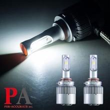 PA LED 1SET x HB3 HB4 60W COB High Power 6000K Super Bright White LED Headlight Fog Light Bulb Kit 9-32V