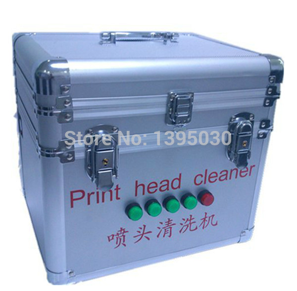 Ultrasonic print head cleaner ultrasonic cleaning machine march DX5 DX6 DX7 printhead high quality print head washing machine solvent printhead ultrasonic cleaner for spt xaar 128 382 polaris konica head cleaner