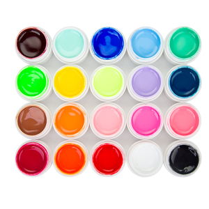Image 3 - Woobela 30 pcs חצי קבוע UV ג ל לק סט משרים כבוי LED ציפורניים ג ל לכה מוצק טהור צבע ציפורניים ציור ג ל