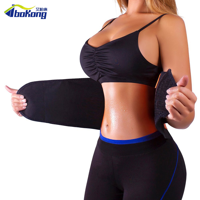 840c0c25e10 Women Mesh Waist Training Power Belt Sport GYM Fitness Corset Body Shaper  Y123