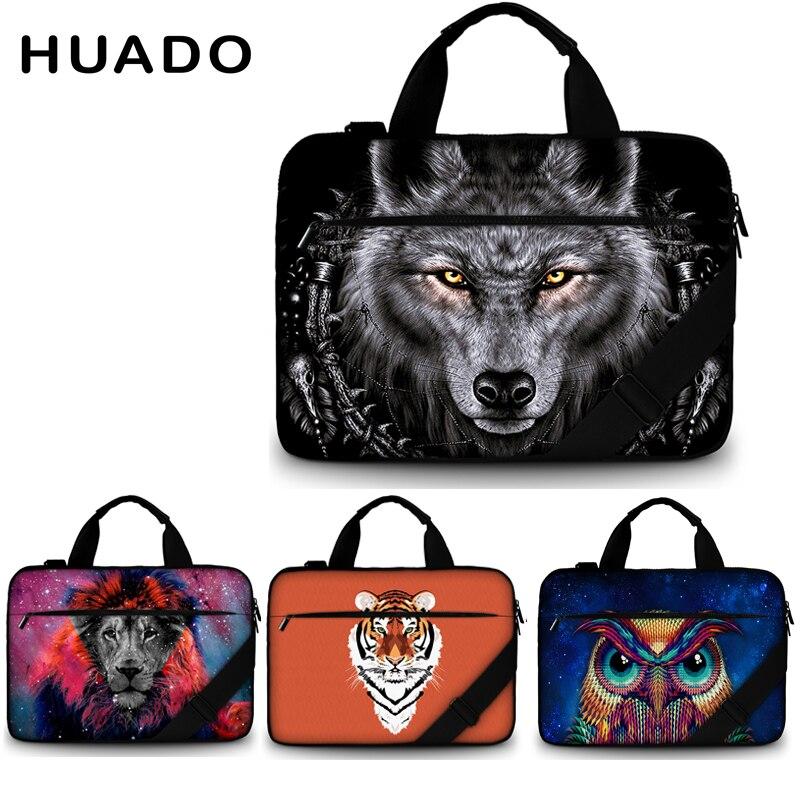 laptop bag 17 inch for xiaomi/macbook/acer/hp/asus canvas shoulder laptop bags for men 17.3 15.6 13.3