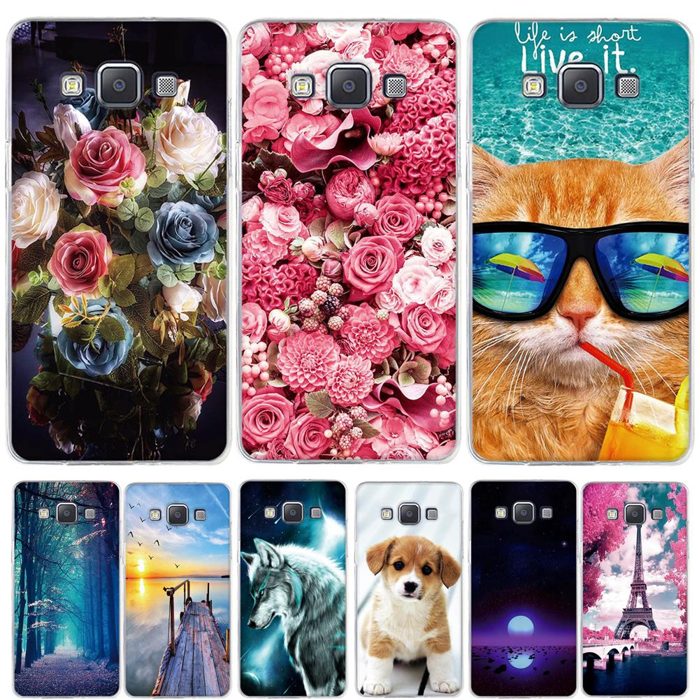 Case For Samsung Galaxy A5 2015 Phone Case 3D Printing Soft Silicone Cover For Samsung A5 A500H A500F 5.0 Inch Phone Case Coque