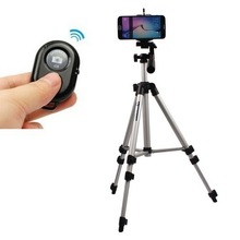 Aluminium Camera Tripod Holder+Bluetooth Control For Samsung Galaxy S6 G920 Edge