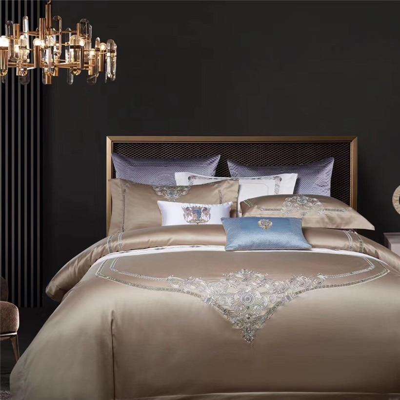 Big Offer 6fe1 Luxury European Embroidery Style Duvet