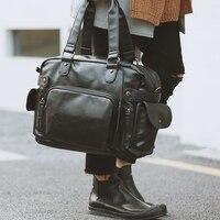 Fashion Leather Handbag men messenger bag Casual men travel bags Briefcase Shoulder Bag crossbody bags for Male designer handbag