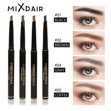 MIXDAIR 1Pcs Waterproof Automatic Eyebrow Pencil Makeup Paint Eye Brow Pen Black Long Lasting 4 Colors Cosmetics Brow Tools