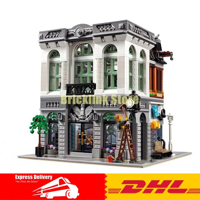 2016 New LEPIN 15001 Brick Bank Model Building Kits Blocks Bricks Kits Toy Compatible With 10251 lepin 15001 brick bank model building kits blocks bricks kits toy compatible with 10251
