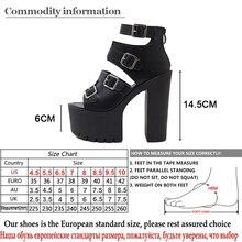 Leather Super High Women Fashion Platform Shoes