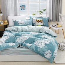 Tropical Leaves Duvet Cover Adult Big Size Bedding Set Quilt Comforter Pillow Case Queen King 24(China)