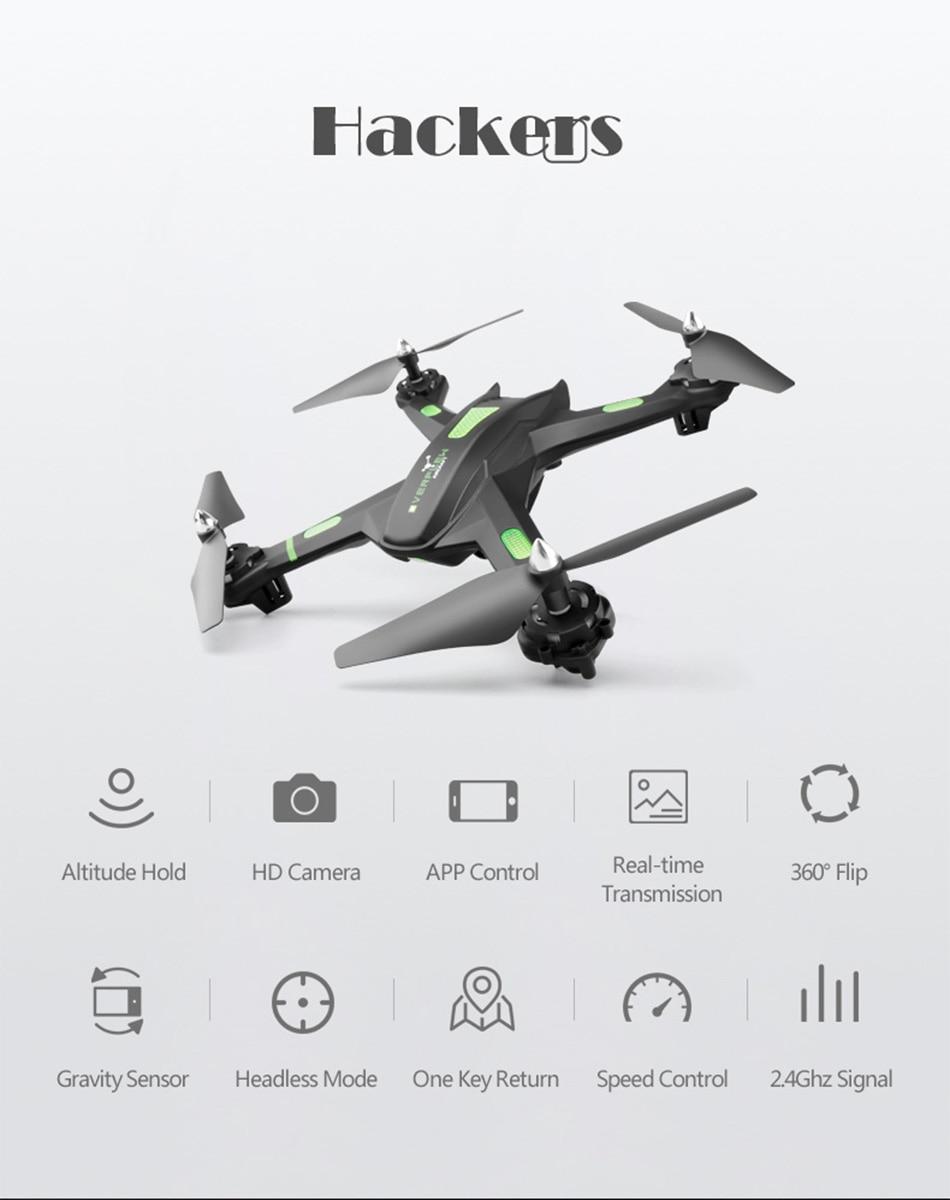 S5 Big Drone Profissional Hover Quadrocopter Gravity Sensor Long