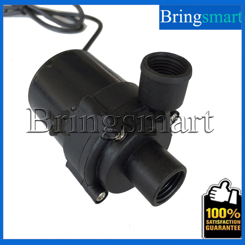 JT-660C 2 Points Internal Thread 800L/H 10M 12V 24V DC Brushless Water Pump Submersible Fountain Pump Warm Heating Circulating bringsmart jt 280at 12v dc brushless submersible water pump 24v circulating computer cooling pumps free shipping