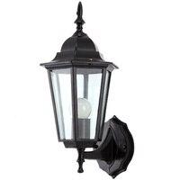 Işıklar ve Aydınlatma'ten LED İç Mekan Duvar Lambaları'de Avrupa vintage alüminyum duvar lambası Amerikan retro açık bahçe su geçirmez duvar aplik lamba e27