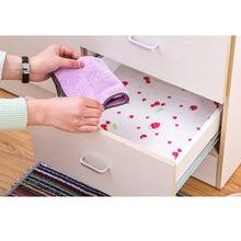 30*500 CM Drawer Shelf Liner Kitchen Drawer Paper Polka Dot Floral Strawberry Waterproof Oil Proof