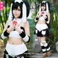LoveLive! Cosplay Yazawa Nico Women's Dress Lovely Animal Costume Panda Homewear Sleepwear Costume