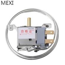 MEXI WPF22-L AC 250V 2Pin термостат для холодильника бытовой металлический контроллер температуры