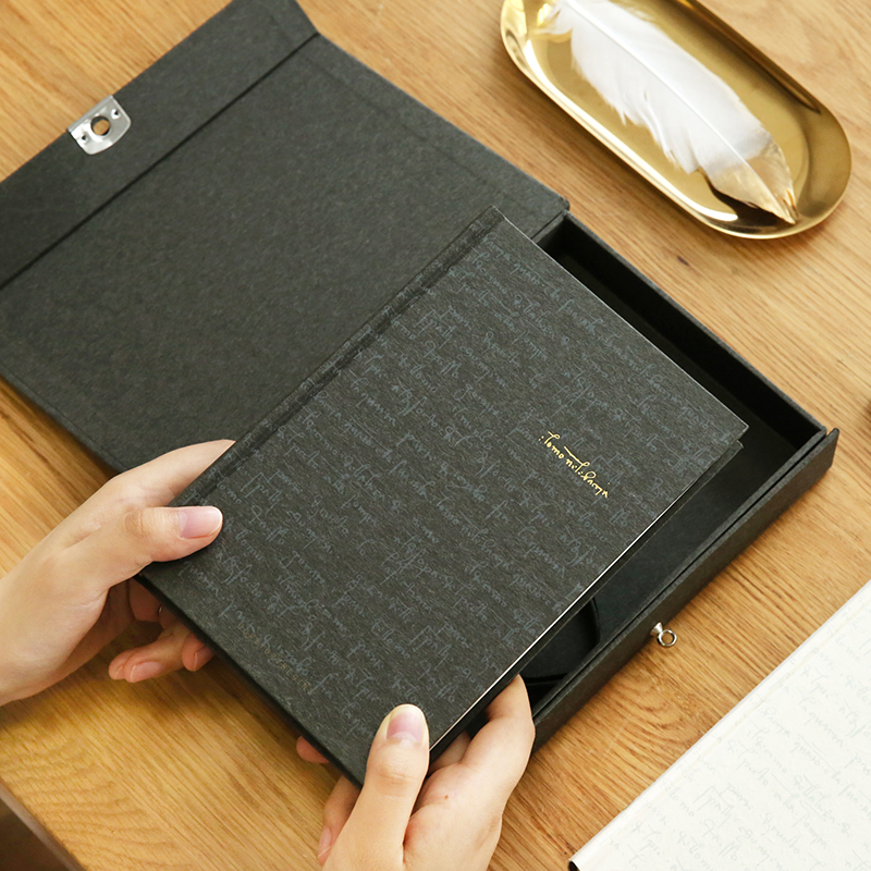 A5 Da Vinci Password Lock Diary Notepad Creative Retro Hardcover Notebook Edition Gift Box a5 fashion business notepad lock password leather notebook diary of charge to an account notebook