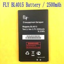 New fly iq440 3.7 v 2500 mah de téléphone de remplacement d'origine li-ion batterie bl4015 bl 4015 mobile téléphone + code de piste