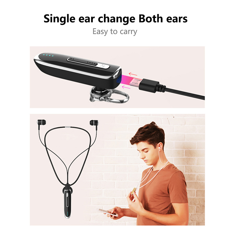 Kuman Bluetooth Headsets In Ear Bass Earphone with Microphone Super Sport Headset For iphone xiaomi huawei Phone Gaming YL-HB2