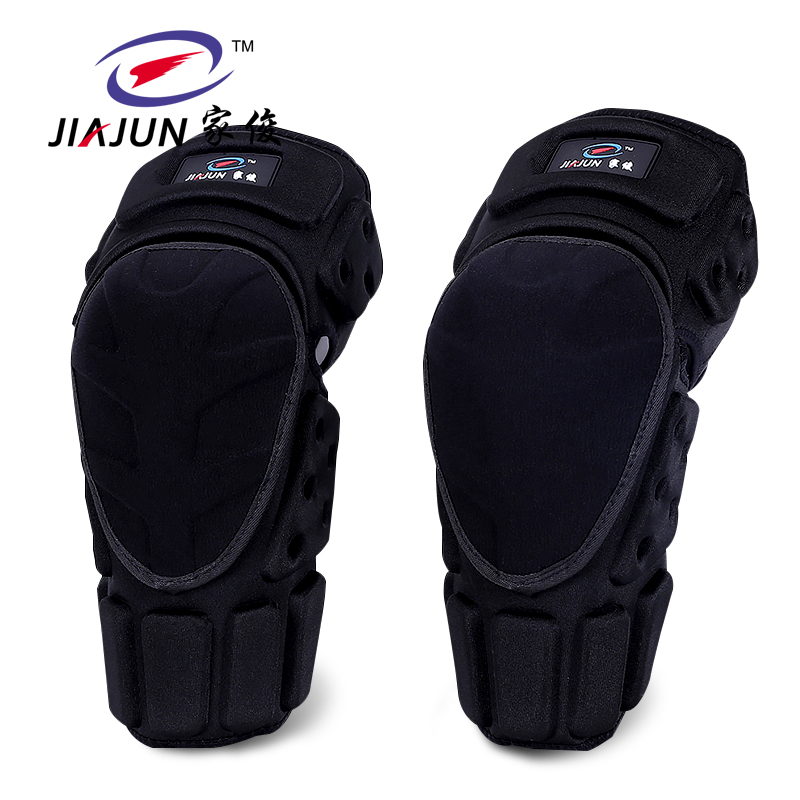 2pcs Knee Support/Elbow Support Adult Field Pulley Bike Motorcycle Knee Protector Brace Protection Elbow Pads Riding Exercise